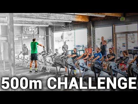 500m Challenge Rowing Machine Workout