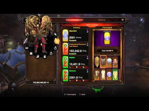 Diablo III ROS: Crazy Blade Wings!