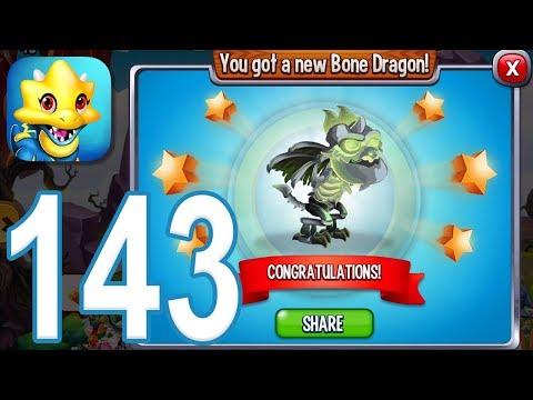 Dragon City - Gameplay Walkthrough Part 143 - Level 49, Bone Dragon (iOS, Android)