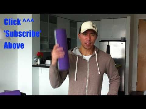 Make Your Own EXTREME Foam Roller