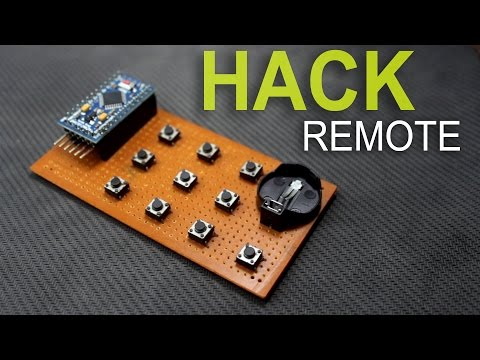 How to hack any IR Remote | Diy Homemade Remote using arduino