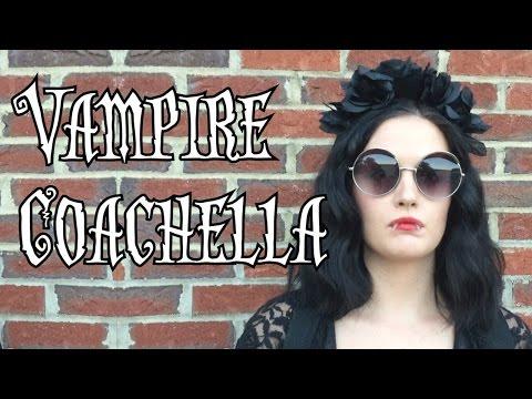 Lo Marie Vintage - Vampire Coachella Halloween Costume