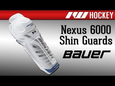 Bauer Nexus 6000 Hockey Shin Guard Review