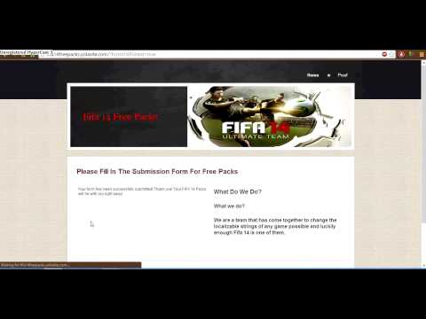 Fifa 14 Ultimate Team Unlimited Gold Packs & Coins!
