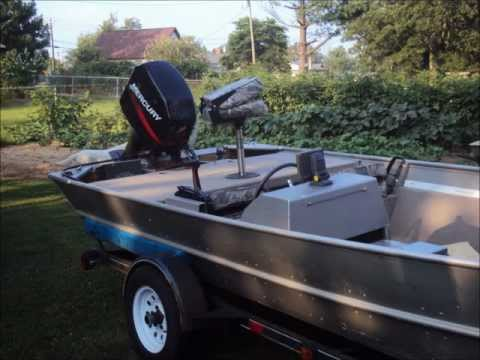 My DIY Aluminum Boat Restoration Part 1