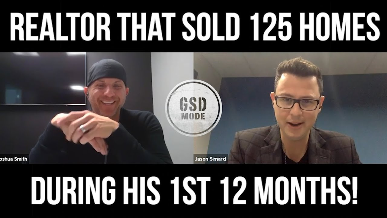1st Year Realtor Sells 125 Homes In 12 Months! (JASON SIMARD FLASHBACK INTERVIEW)