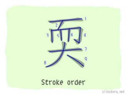 The Story of Chinese Character : 耎