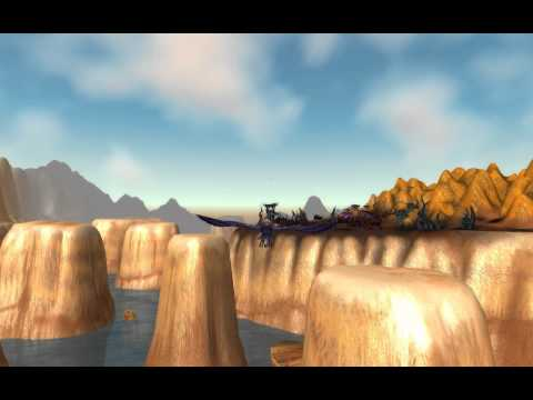 WoW Cataclysm Beta : Thousand Needles quick fly tour