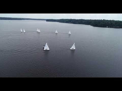 June 9, 2018 Vlog #115 Sailing race around Woodlake, Midlothian Va