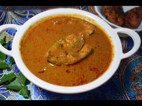 Vanjaram Fish curry Recipe south indian style/Meen Kulambu/Seer Fish Curry South Indian Style