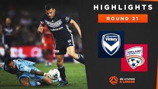 Highlights: Melbourne Victory v Adelaide United – Round 21 Hyundai A-League 2019/20 Season