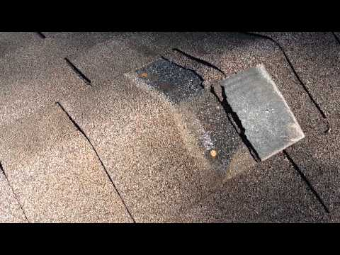 Roof Warning Signs - Asphalt Shingles - Ridge Cap