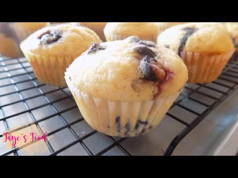 Homemade Blueberry Muffins Recipes || Easy & Fluffy!