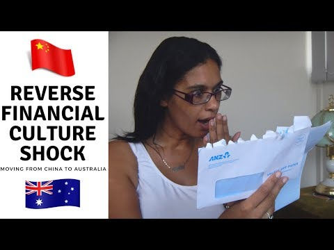 Reverse financial culture shock | Spending changes from China to Australia
