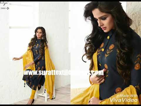 LT NITYA NEW CATALOG WITH READY MADE TOP AND DUPATTA