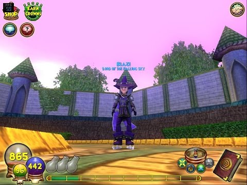 Wizard101 The Earn Crowns Button
