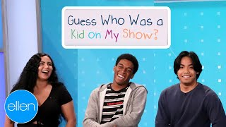 Guess Who Appeared on 'The Ellen Show' as a Kid!
