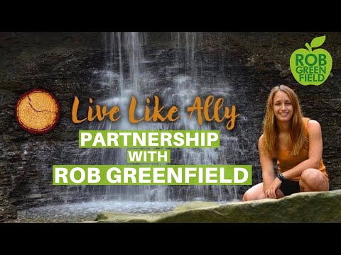 Rob Greenfield and Live Like Ally Foundation Partnership