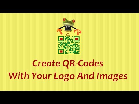 How To Create Free QR Code With Logo And Images