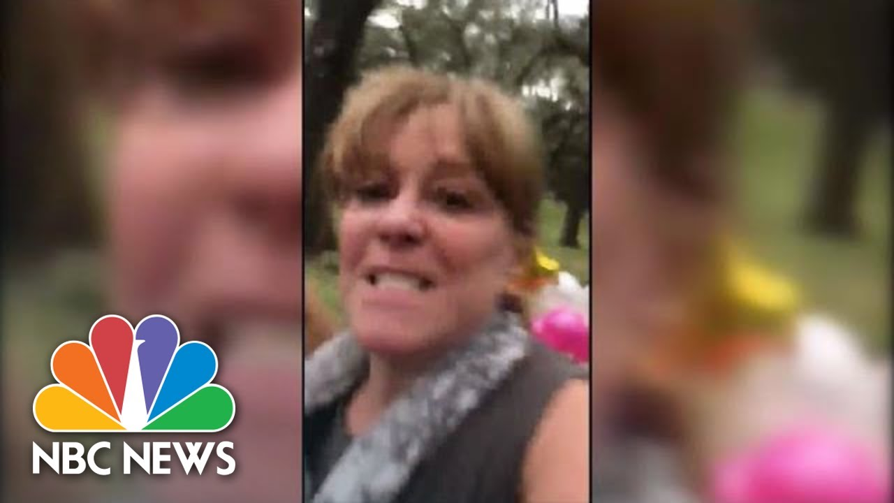 Watch: White Woman Confronts Mixed-Race Couple During Baby Photoshoot | NBC News
