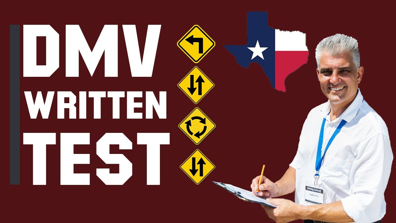 Texas DMV Written Test 2021 (60 Questions with Explained Answers)