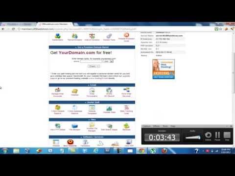 How to setup wordpress on 000webhost or my3gb.