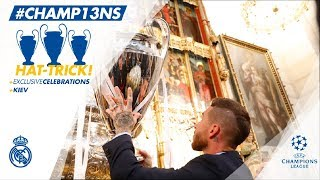 🏆🙌 Our #CHAMP13NS celebrations | La Almudena & Comunidad de Madrid