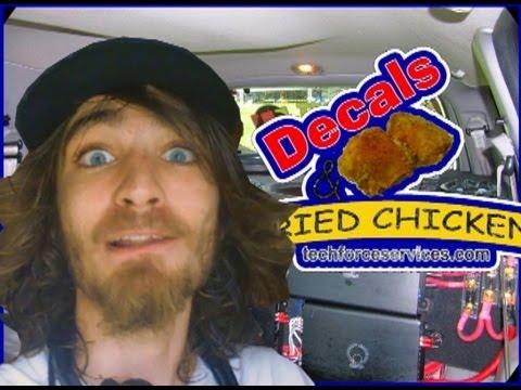 TechForce Car Audio Decals & Funny Bumper Stickers!