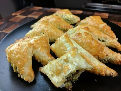Indian Beef Puff Pastries Recipe Food Flipped EP 25