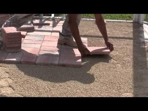 Paver Pool Deck Installation - Tuscan Paving Stone