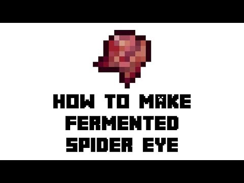 Minecraft Survival: How to Make Fermented Spider Eye