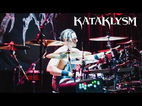 Kataklysm live drummer Oli Beaudoin Reggies 6-4-2018