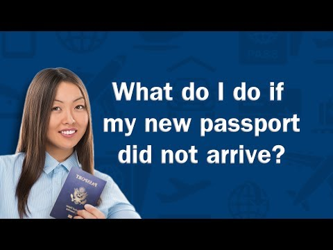What do I do if my new passport did not arrive? - Q&A