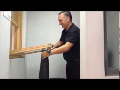 How to clean a Marvin Double Hung window