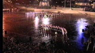 Handover of Hong Kong 1997, Auld Lang Syne