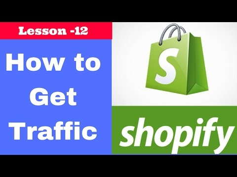 how to drive targeted traffic to your store in hindi | Urdu | Lesson - 12