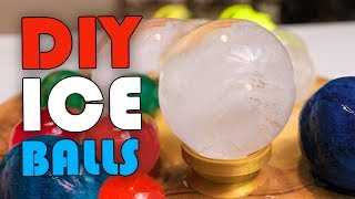 how to make ice balls