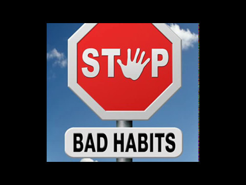 How to change bad habits