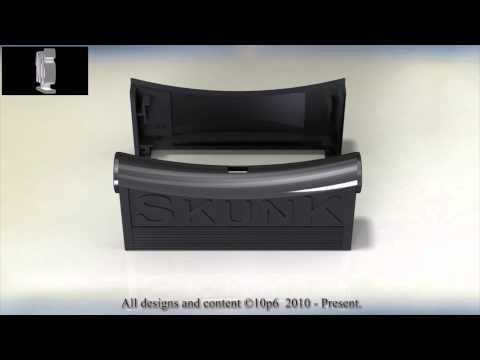 Skunk-Box, enclosure for Skunk-Board (Atari Jaguar)