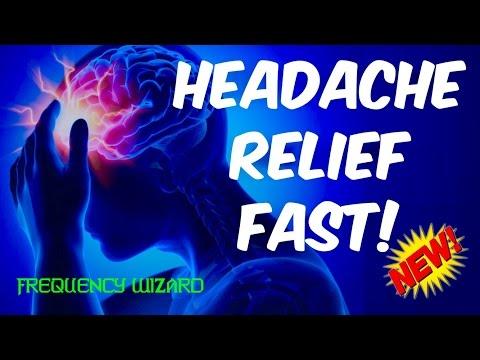⚡️GET HEADACHE RELIEF FAST! BINAURAL BEATS MEDITATION MUSIC
