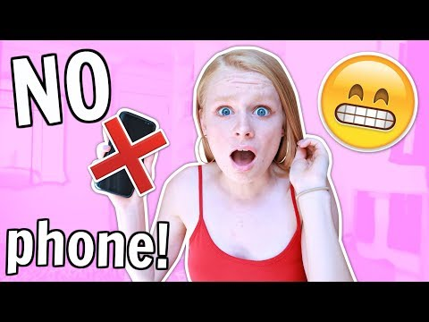 NO PHONE for 24 HOURS challenge! 😱📱 *super difficult*