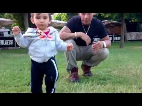 Baby walking :)