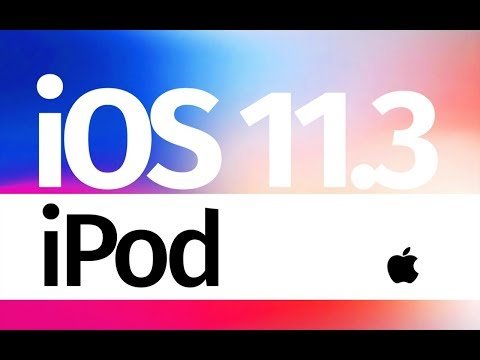 How to Update to iOS 11.3 - iPod Touch