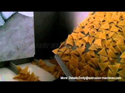 Corn Chips & Corn Tortilla Making Machine    Full Automatic  Corn Chips Production Line