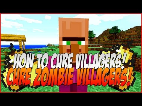Minecraft How To Cure Zombie Villagers : Cure Infected Villagers! Xbox 360 - PS3