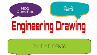 Engineering drawing objective type questions for alp CBT -2 exam