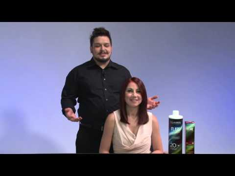 How to Change Hair Color From Dark Brown to Bright Red by Clairol Professional