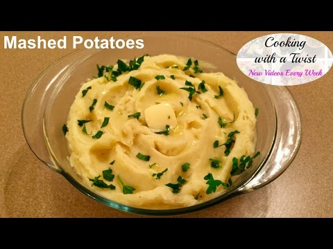How to make Mashed Potatoes - Simple Mashed Potatoes - Mashed Potatoes Recipe