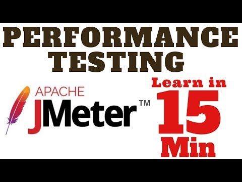 Master performance testing with Jmeter in 15 min    Learn Automated Performance Testing