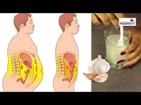 How to Lose Belly Fat Fast by Using Garlic  - Tamil Weight Loss Home Remedies